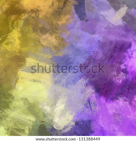 art abstract painted background in beige and violet colors - stock photo