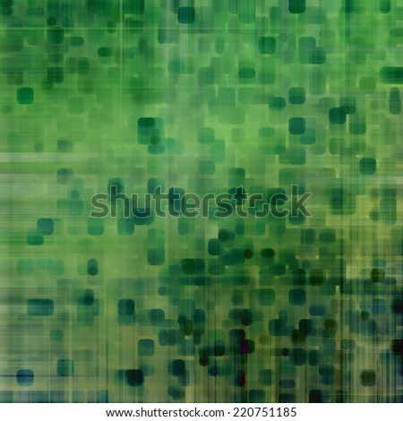 art abstract pixel geometric  pattern background in green colors