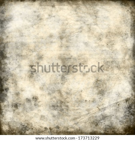 art abstract watercolor white background with grey, beige and black blots - stock photo