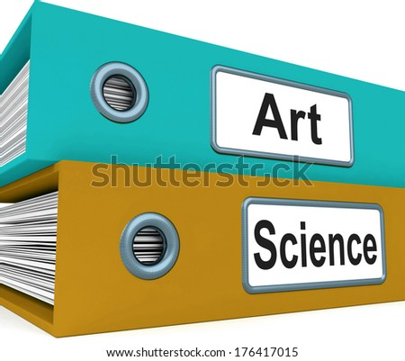 Art and Science folders