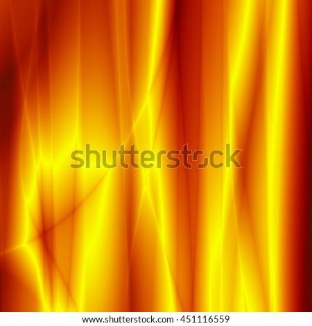 Art background golden flow power design - stock photo