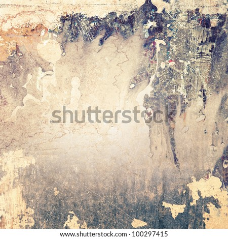 Art background, grunge texture - stock photo