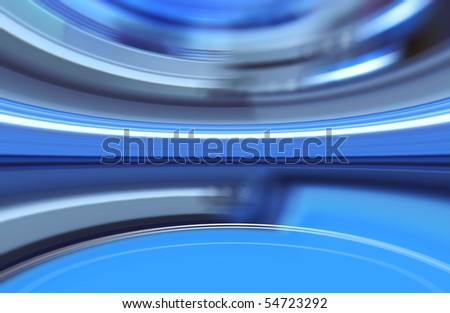 art background of technological blurred process or figure progress - stock photo