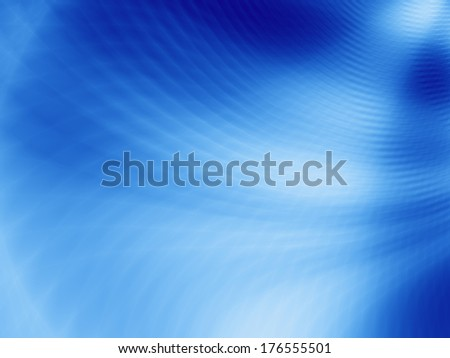 Art blue business card abstract background - stock photo