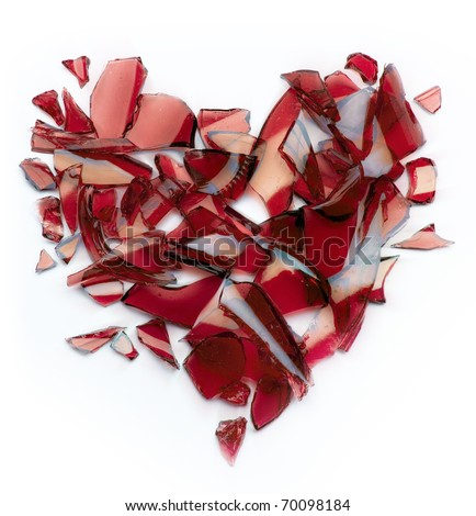 Broken Heart Images Art broken heart - stock photo