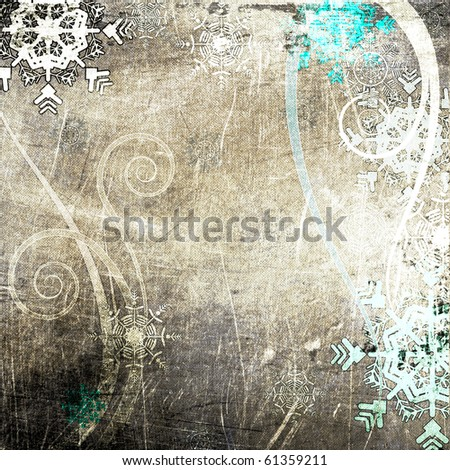 art christmas background - stock photo