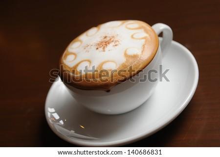 art coffee - stock photo