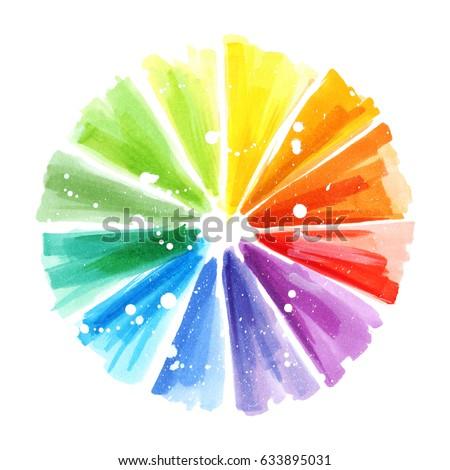 Color Wheel Design Art
