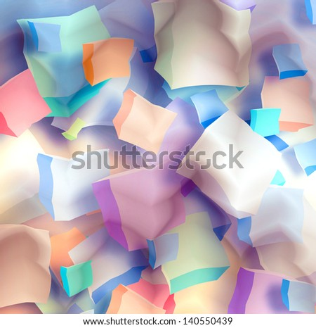 art colorful abstract background - stock photo