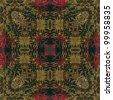 art colorful ornamental vintage pattern - stock vector