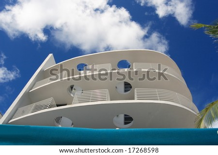 Art Deco Architecture - stock photo