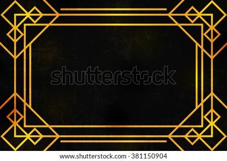 Art Deco Background Texture Stock Illustration 381150904 - Shutterstock