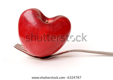 Art food background: lose weight - stock photo