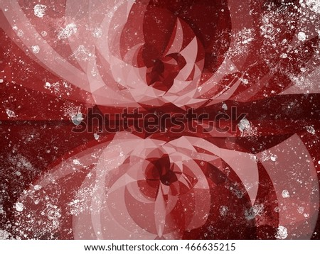 art grunge red ragged abstract pattern illustration background