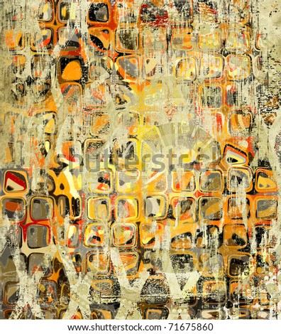 art grunge vintage texture background - stock photo