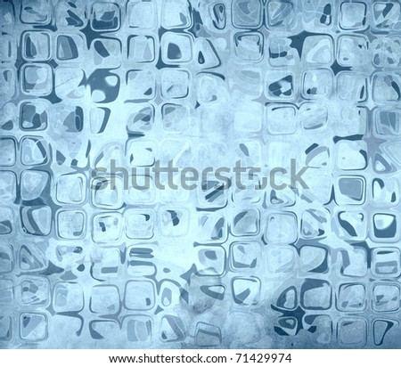 art grunge vintage texture background - picture in blue tones - stock photo