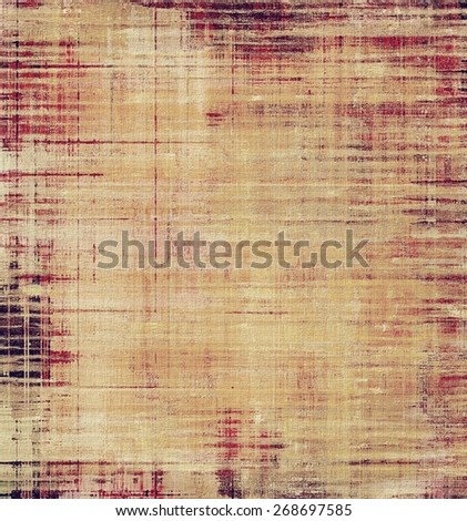 Art grunge vintage textured background. With different color patterns: brown; yellow (beige); pink - stock photo