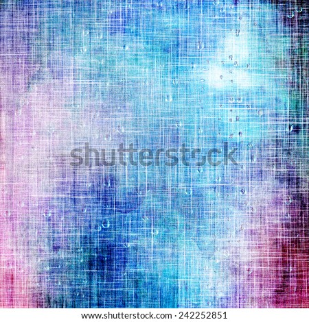 Art grunge vintage textured background. With different color patterns: purple (violet); pink; cyan; blue - stock photo