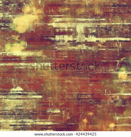 Art grungy texture, aged background with retro feeling. With different color patterns: yellow (beige); brown; green; red (orange); purple (violet); pink - stock photo