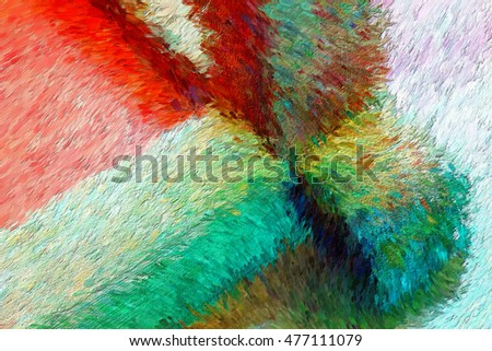 Art impression painting abstract background