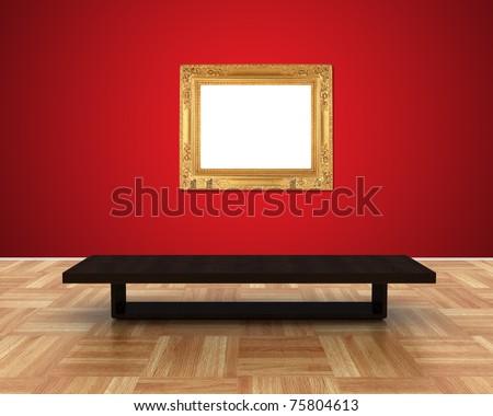 art museum - stock photo
