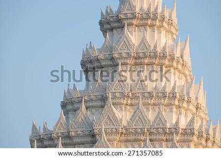 Art of Thai Royal Palace - stock photo