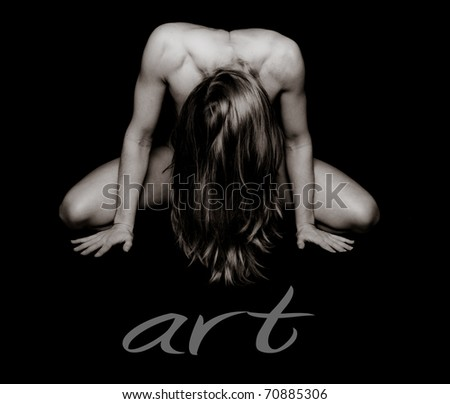 Art of Woman - stock photo