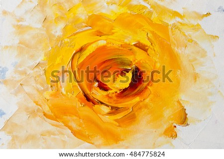 Art oil painting picture fantasy yellow flower stock illustration art oil painting picture fantasy yellow flower abstract oil painting background oil on mightylinksfo