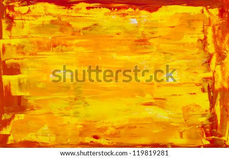 art paints, palette - stock photo