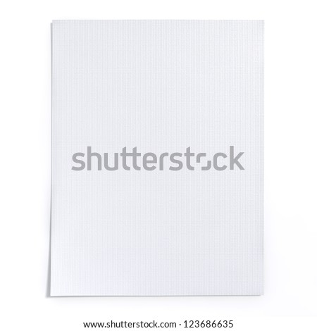 Art paper texture with white color, High resolution background. - stock photo