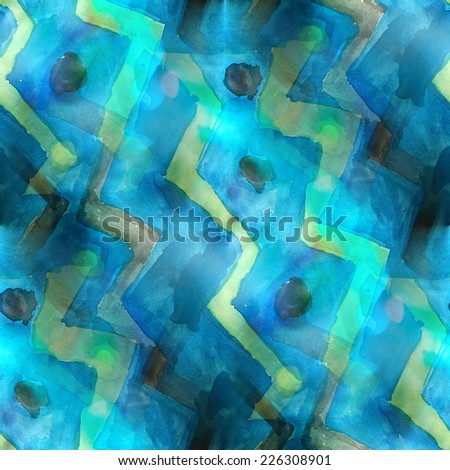 art splash background blue, black texture abstract watercolor seamless pattern paint wallpaper color paper - stock photo