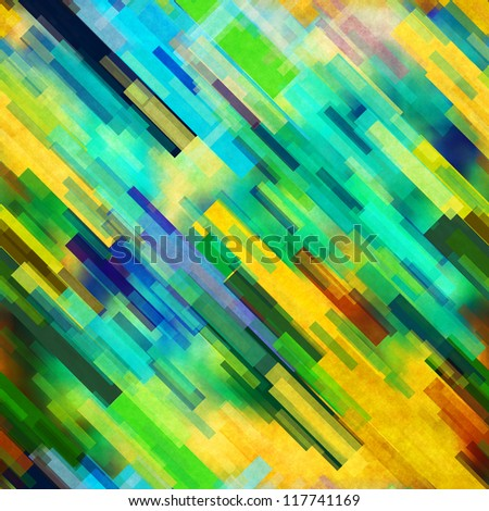 art vintage colorful abstract geometric background