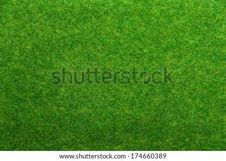 Artificial grass - stock photo