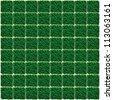 Artificial Grass Chess board texture. - stock photo