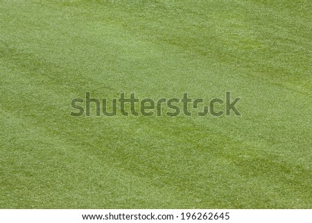Artificial Grass Field Top View Texture for background - stock photo