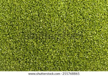 Artificial Grass Field Top View Texture top view  - stock photo