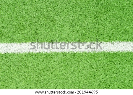 Artificial grass from a sports stadium. - stock photo