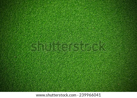 Artificial green Grass for background - stock photo