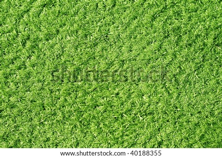 artificial lawn great as a background