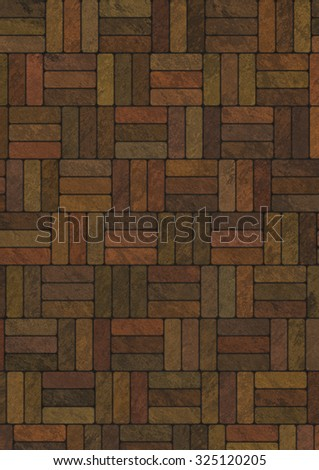 Artificial marble bricks background, texture