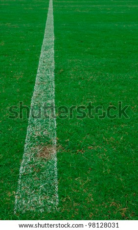 Artificial turf. - stock photo