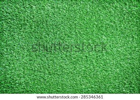 Artificial turf green - stock photo