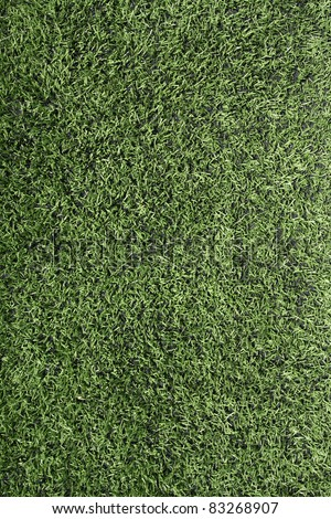 Artificial Turf of an American Football Field, vertical - stock photo