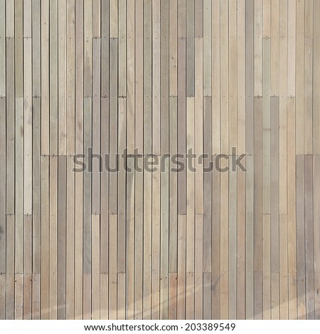 artificial wood plank texture background - stock photo