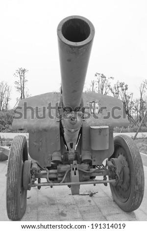 artillery - stock photo