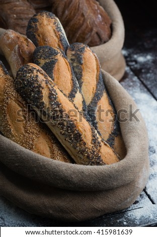French Bread Stock Photos, Royalty-Free Images  Vectors