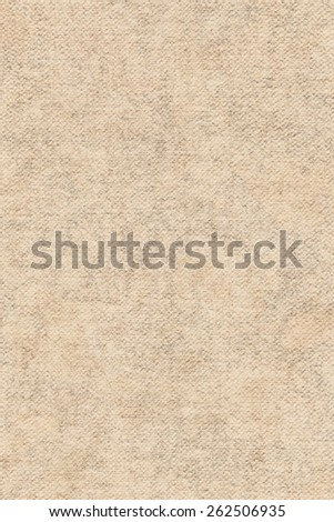 Artist Primed Cotton Duck Canvas, coarse grain, bleached, mottled, stained, grunge texture. - stock photo