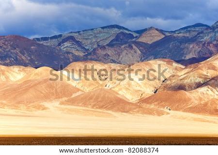 Artist's Drive, Death Valley National Park, California, USA - stock photo