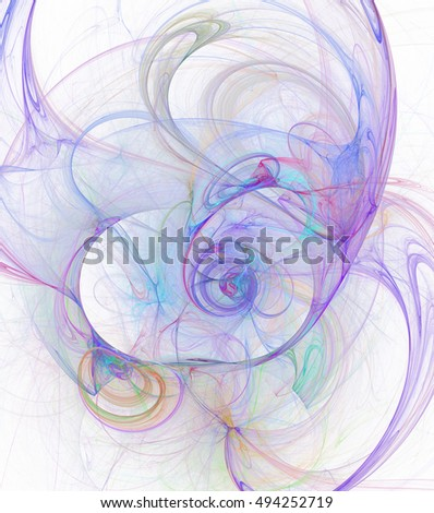 Artistic background made of fractal  for use with projects on Universe, cosmos, astronomy, science and education