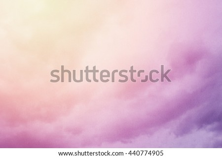 artistic soft cloud and sky abstract background with grunge texture - stock photo